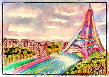 Colorful square view van Remco den Boesterd