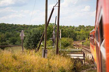 Mit dem Zug durch Ungarn reisen von Ger Beekes