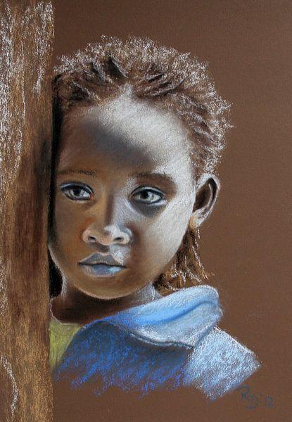 Äthiopisches Kind von Renate Dohr