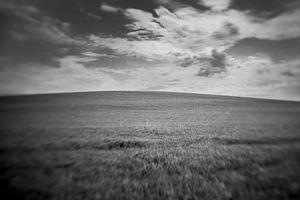 Rustige Franse Heuvel van