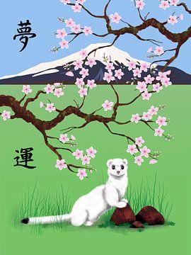 Japanischer Traum von Lida Bruinen