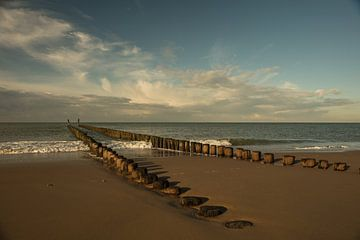 Strand Ost-Kapelle von anne droogsma