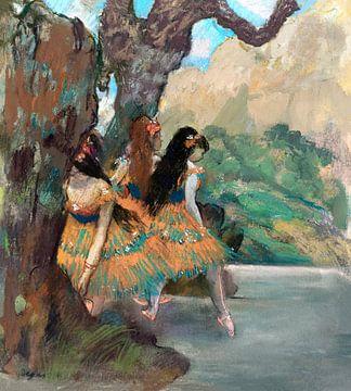 Ballett, Tänzerinnen , Edgar Degas (ca. 1877)