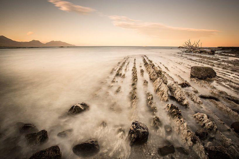Kust Nieuw Zeeland van Remco Siero