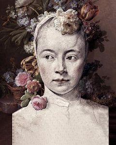 Fille de fleur du XVIIe siècle