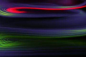 """Kleuren in beweging, """" bevroren"""" met de camera van Wim Bodewes"""