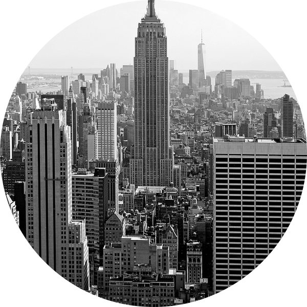 new york city ... manhattan view I van Meleah Fotografie