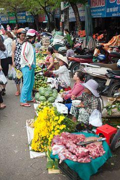Markttag in Vietnam von t.ART