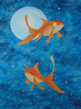 Astrologie vissen van Ingrid van El