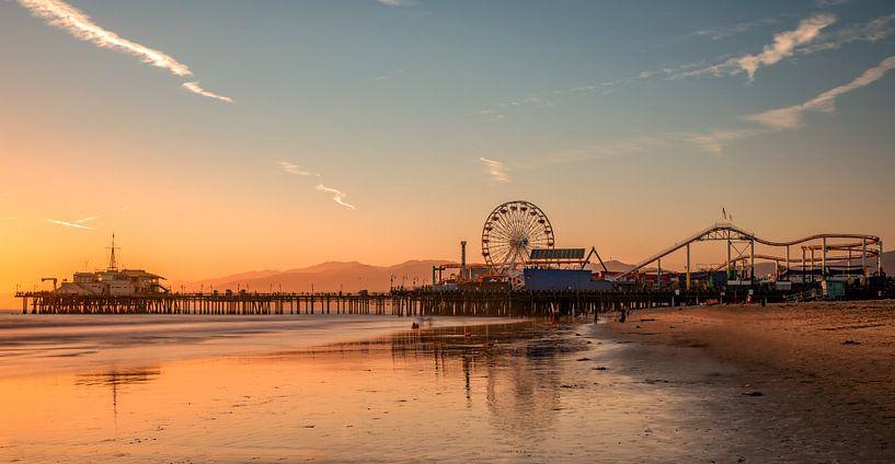 Santa Monica Pier van Reinier Snijders