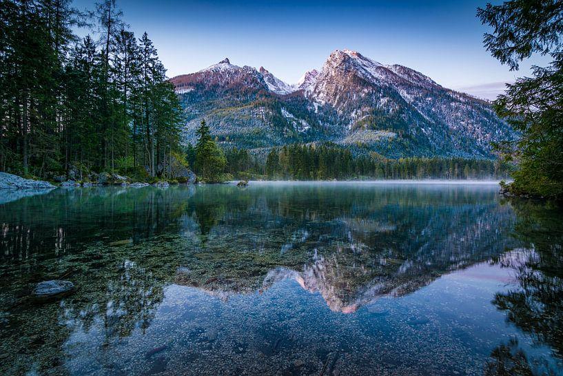 Hintersee in Ramsau bij Berchtesgaden van Martin Wasilewski