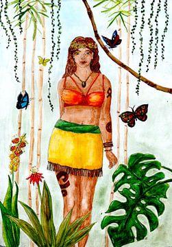 Göttin Natur von Sandra Steinke