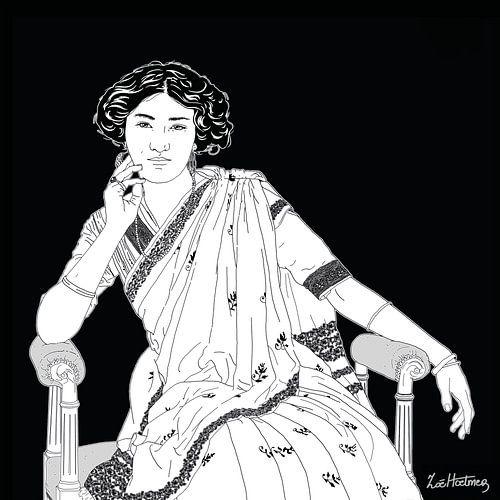 Portret van Princess Sudhira Devi