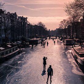 Winter in Amsterdam van Jellie van Althuis