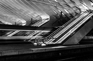 Escalator Z/W Station Luik-Guillemins