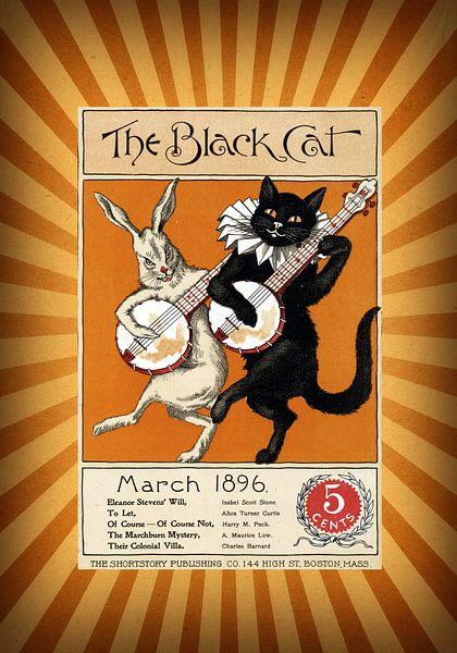 The Black Cat van Jacky Gerritsen