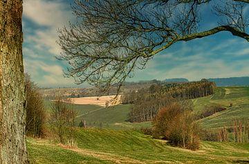 Landschaft im Erzgebirge von Johnny Flash