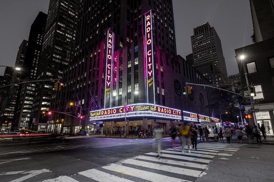 Radio City Music Hall      New York van Kurt Krause