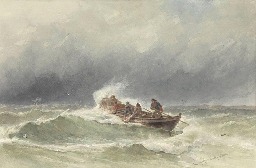 Redding op zee, jonkheer Jacob Eduard van Heemskerck van Beest van Meesterlijcke Meesters