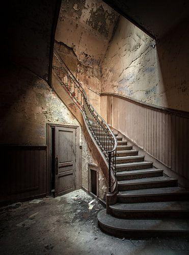 Oud trappenhuis van