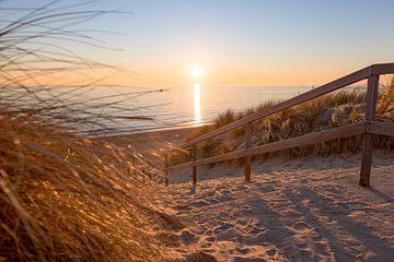 Bye bye Strand von StrandArt.nl