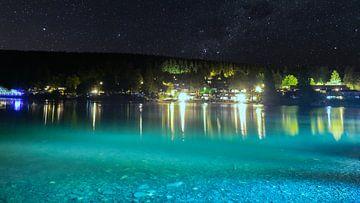 Campingplatz das Kreuzeck bei Nacht van
