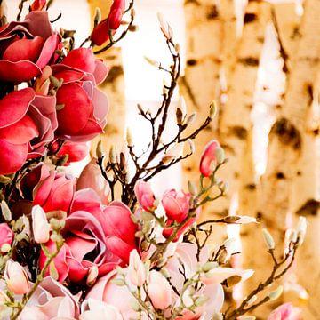 Romantic Flowers in Paris von