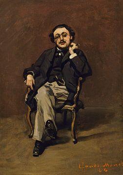 Dr Leclenché, Claude Monet sur
