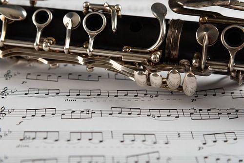 Klarinet met muziekblad 2