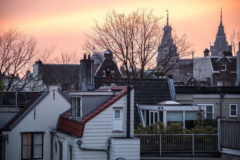 De achterkant van Amsterdam, met het Rijksmuseum als uitzicht van Annelies Martinot