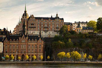 Foto der Stadt Stockholm in Schweden von Karijn Seldam
