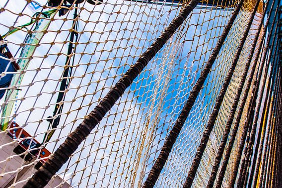 Fishingnets van Brian Morgan