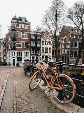 Häuser an der Keizersgracht, Amsterdam von Lorena Cirstea