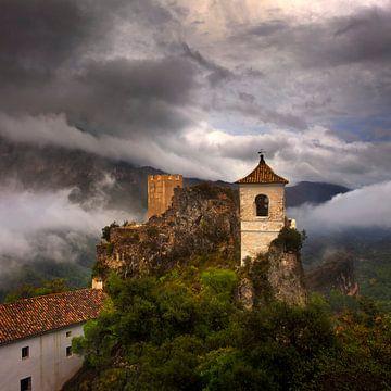 Castell de Guadelest Spanje Vierkant Formaat van Peter Bolman