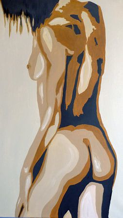 Nude van Jan Wiersma