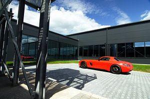 Mercedes-Benz SLS AMG van Jesper van der Noord