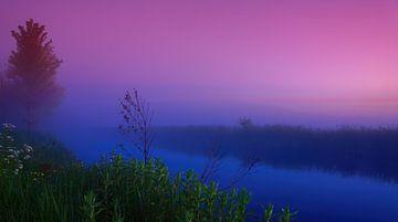 Sonnenaufgang auf der Bonkevaart 4 von Marcel Kieffer