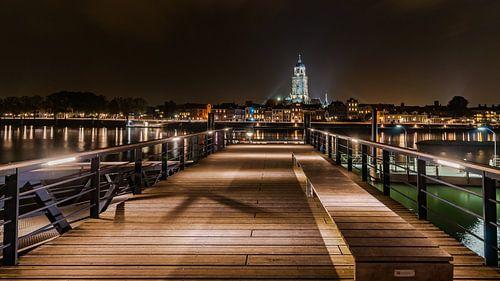 Uitzicht over Deventer