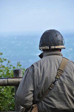 Soldaat in Normandië van