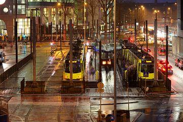 Tramhalte Jaarbeursplein in Utrecht sur Donker Utrecht