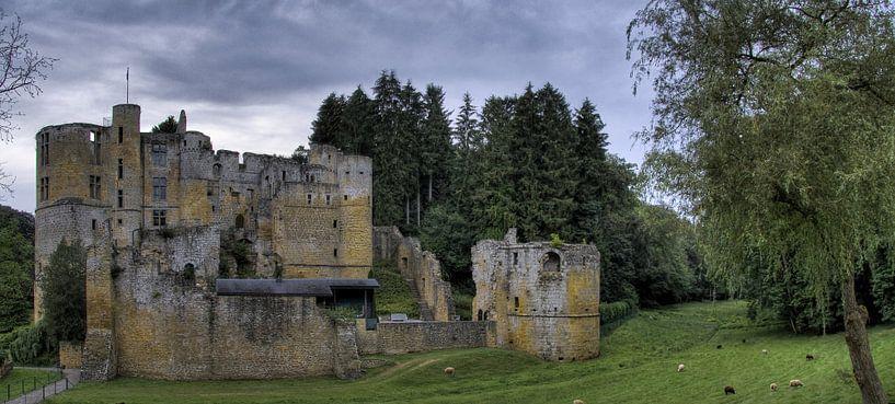 Chateau Beaufort Luxemburg van Rens Marskamp