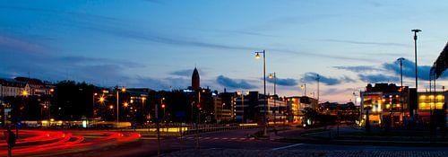 Göteborg Harbour - Night Traffic van