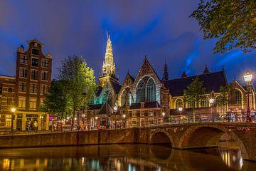 Alte Kirche - Amsterdam von Rene Siebring