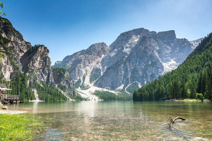 Lago di Braies van Tom Klerks