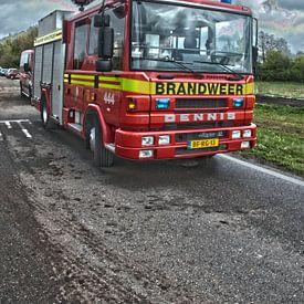 Brandweerauto Dennis Rapier brandweer Ens van Arthur Wijnen