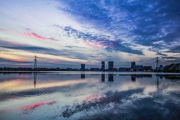Almere Skyline van Gabriella Sidiropoulos
