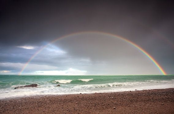 There is always a rainbow after the rain! van Olha Rohulya