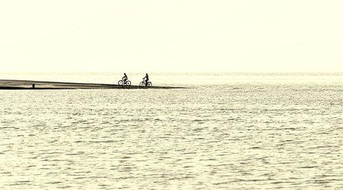 Fietsen aan zee van Ellen Driesse