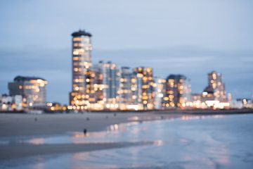 All the little lights - Skyline boulevard Vlissingen van Eleana Tollenaar