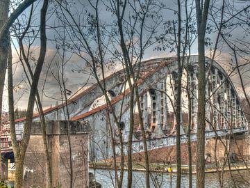 Alte Brücke von P van Beek